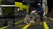 Deathbike Shock del Futuro modificada