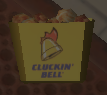 Piernas de pollo cluckin' bell