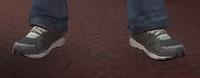 Zapatillas grises GTA IV