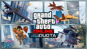 Cuota aérea GTA Online