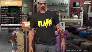 Remera Flash FM-GTA Online