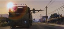 Camion Blindado Desconocido