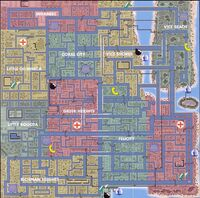 Mapa de Vice City gta 1