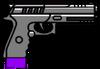 PistolaMkII-GTAO-Munición blindada-HUD