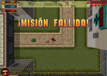 Misión fallida GTA 2