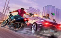 Artwork GTA Online persecusion