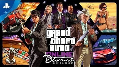 GTA Online - The Diamond Casino & Resort (en español) PS4