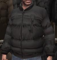 Anorak negro GTA IV