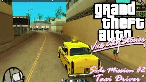 GTA Vice City Stories (PSP Emu) Side Mission 2 - Taxi Driver