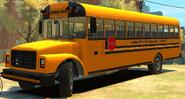 Reconstrucción del bus escolar GTA IV