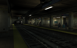Castle Gardens Station GTA IV