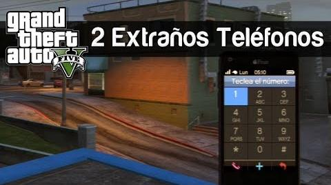 GTA V 2 Teléfonos Extraños (mini easter-egg)