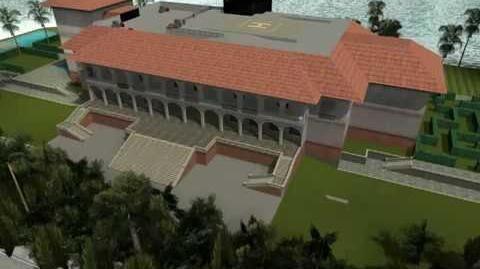 GTA Vice City - The Lab - Starfish Mansion's 360 Render