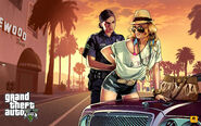 Official Gta V Artwork Stop And Frisk
