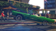 Chino con suspensión hidraúlica GTA V Lowriders