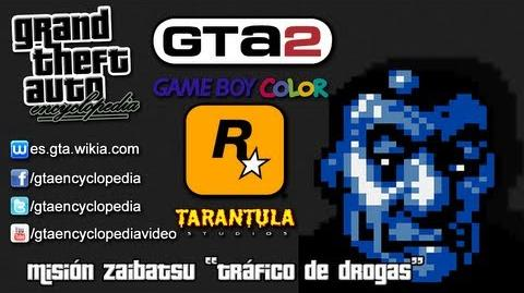 Grand Theft Auto 2 (GBC) - ¡Tráfico de drogas! (GBC)