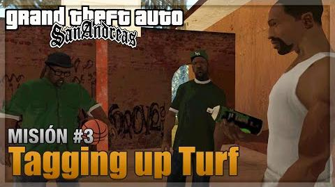 GTA San Andreas - Misión 3 - Tagging up Turf (Español - 1080p 60fps)