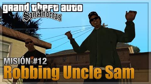GTA San Andreas - Misión 12 - Robbing Uncle Sam (Español - 1080p 60fps)