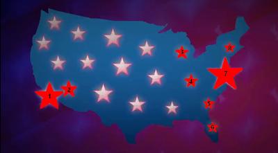 Mapa E.E.U.U. GTA