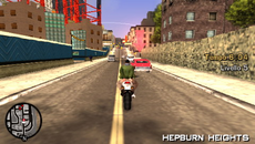 Toni transitando por Hepburn Heights