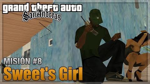 GTA San Andreas - Misión 8 - Sweet's Girl (Español - 1080p 60fps)