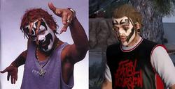 Comparacion Shaggy Wade