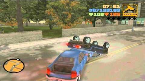 GTA III consiguiendo el bobcat especial