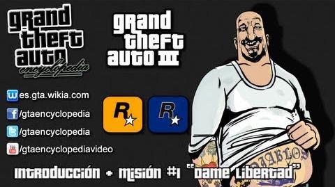 """Grand Theft Auto III - Introducción Misión 1 """"Dame libertad"""""""