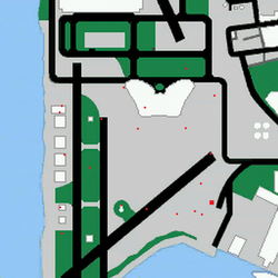 Localizaciones de la mision RCRaiderVC