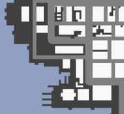 Mapa Castle Garden City