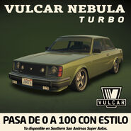 Nebula Turbo Poster promocional Latinoamérica GTA Online