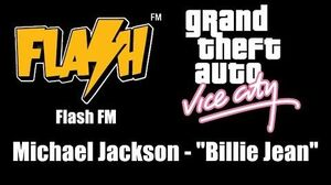 "GTA Vice City - Flash FM Michael Jackson - ""Billie Jean"""