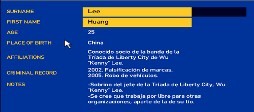 Huang Lee LCPD