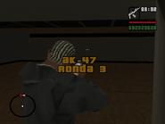 AK-47 ronda 3