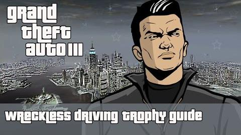 Grand Theft Auto III (PS4) - Wreckless Driving Trophy Guide