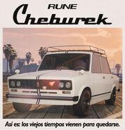 Cheburek Poster Castellano