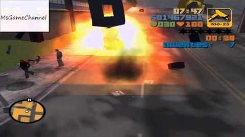Destrucción del Diablo - Desafío TOYZ - GTA III (HD)