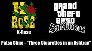 "GTA San Andreas - K-Rose Patsy Cline - ""Three Cigarettes in an Ashtray"""