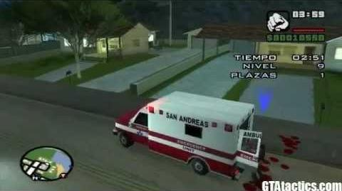 GTA San Andreas - Misiones de la Ambulancia - Tutorial