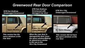 GTASA-Greenwood Comparación de puertas