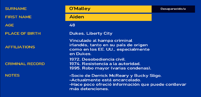 Aiden o'malley