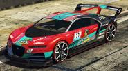 Nero personalizado Jackal Racing Turquesa