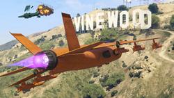 GTA Online Cuota aérea V