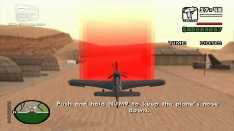 GTA San Andreas - Pilot School 2 - Land Plane (HD)