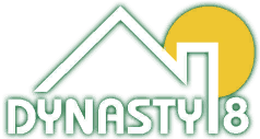 Dynasty 8 logotipo