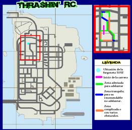Mapa Trashin