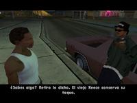 Diálogo entre Ryder y CJ