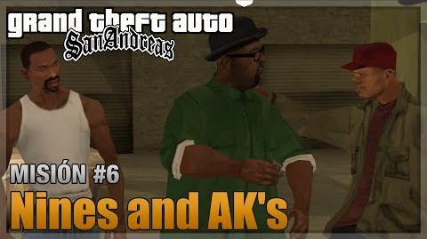 GTA San Andreas - Misión 6 - Nines and AK's (Español - 1080p 60fps)