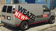 Weazel News Rumpo-GTAV-rear