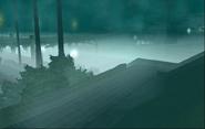 Neblina en marina